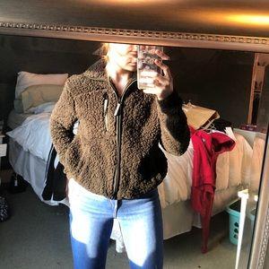 Sherpa garage coat